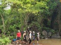 Climbing with friends in Sinaloa