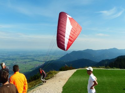 Paragliding flight in Valle de Bravo 30 minutes