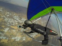 Hang-gliding flight 15 min photos and video