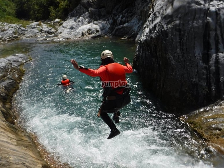 Jump off the canyon