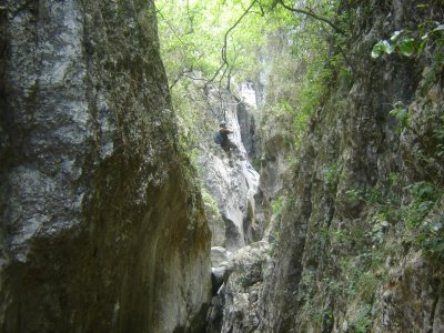 Camping and rappel in Laberinto and Salto canyons
