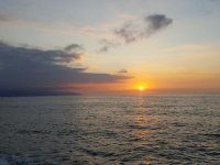 Atardecer en Puerto Vallarta pesca