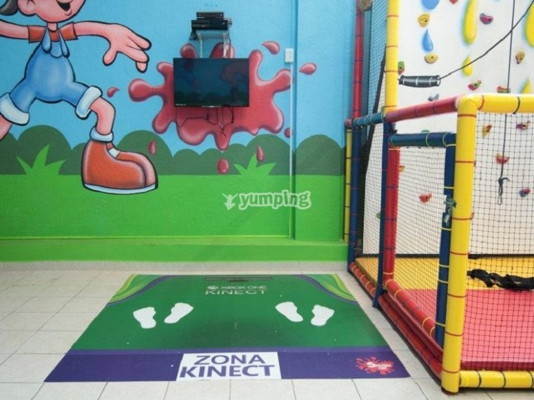 children's party rooms on satellite