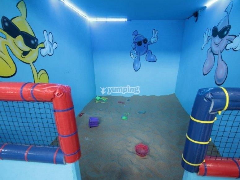 soccer fields children's room