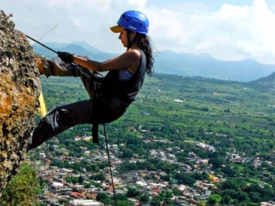 Rappel for beginners, Tlayacapan