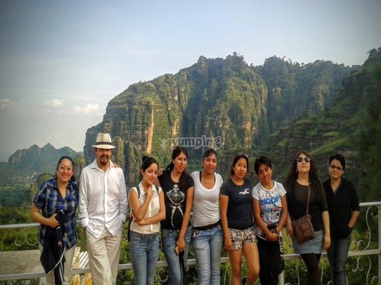 Descubre los paisajes naturales de Tlayacapan