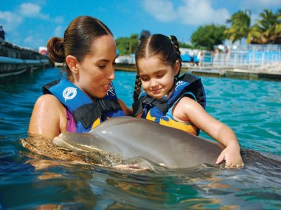 Xcaret, Xel-ha, Xplor Cancun & Playa Tours Nado con Delfines