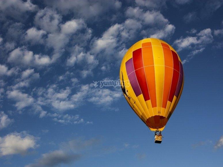 Fin de semana volando en Teotihuacán