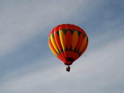 Vuelo en globo en Teotihuacán video y alojamiento