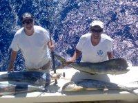 Lograron pescar