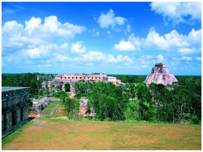Uxmal visit + meal, Maya house