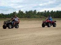 Conduciendo en arena