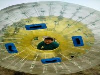Zorbing sphere renting for 4 hours