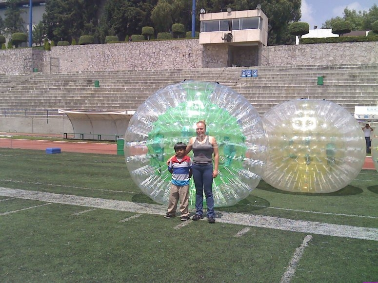 Zorbing in social events