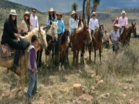 horseback riding group