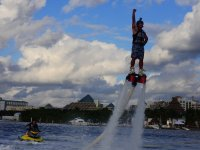 Flyboarding in Cancun with video