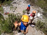 Sport climbing course in Monterrey