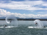 Come and enjoy the accompanied flyboard