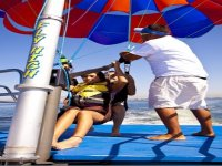 Landing of safe parasail