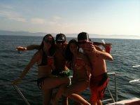 Trip at sea