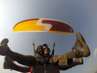 Paragliding in Tenancingo + Camping for 2 Days