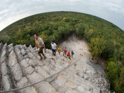 Guided tour to Coba, Mayan meeting + abseiling