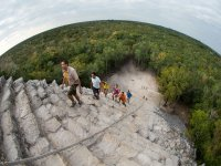 Guided tour to Coba and to a Mayan village