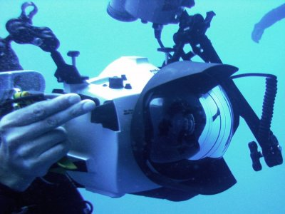Underwater photography course in Mexico City