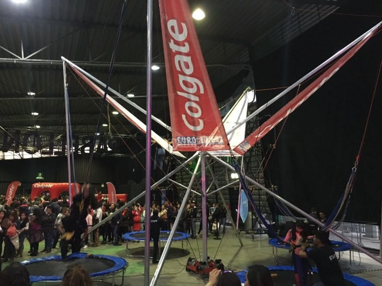 Eurobungy for corporate events