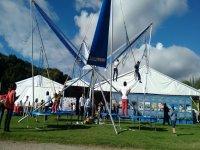 Eurobungy-trampoline