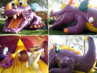 Dragon inflable