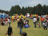 Children's party installation