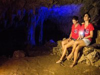 Illuminated caves