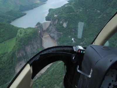 Helicopter flight over Tequesquitengo 15 min