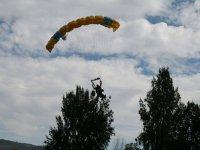 Paragliding jump in Guadalajara