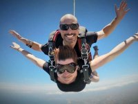 Parachuting jump in Vallarta photos and video