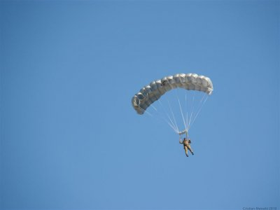 Parachute jump in Queretaro with video
