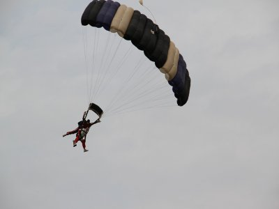 Jumping on a tandem parachute in Querétaro