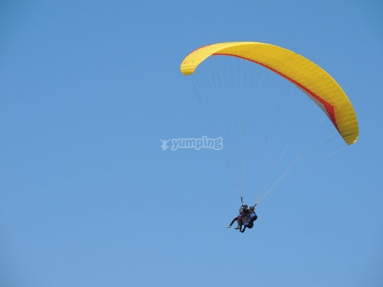 Skydiving in Puebla