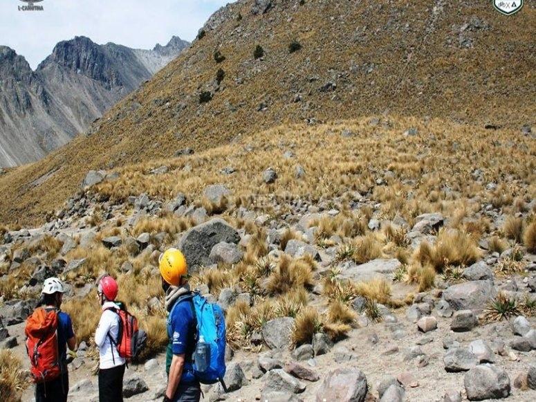 Hike in Nevado de Toluca