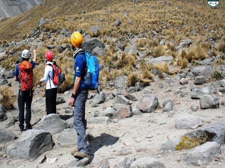 Geting to Neva de Toluca