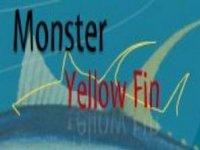 Monster Yellow Fin Snorkel