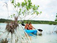 Tour the Bacalar lagoon