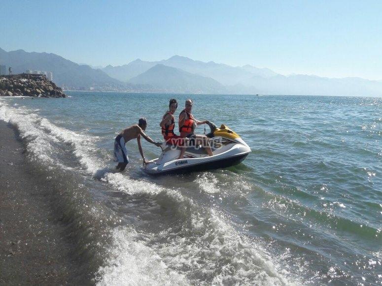 Renta una moto acuatica