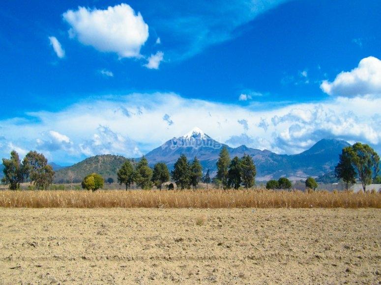 Panoramic of the Pico de Orizaba