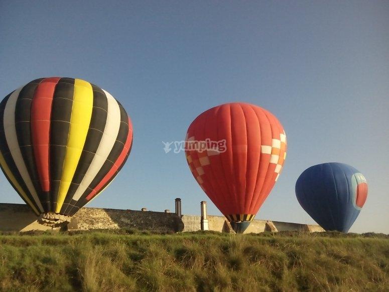 Ready balloons