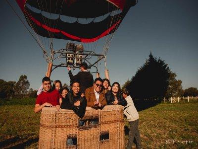 Vuelo en globo en Huamantla con alojamiento