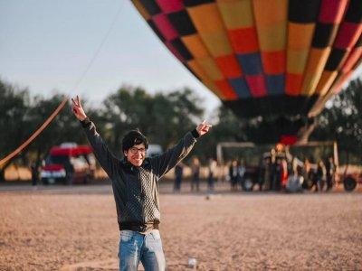 Vuelo en globo en Huamantla con noche de hospedaje