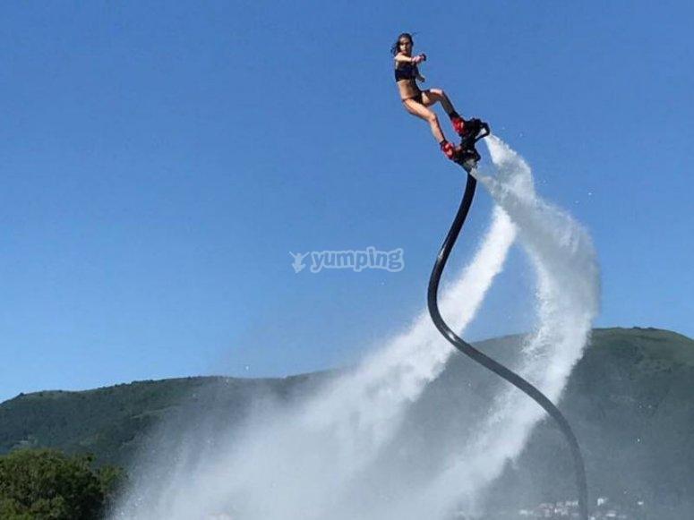 Adrenalina en lo alto