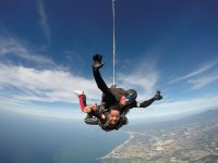 Tandem parachute jump videos & photos Vallarta